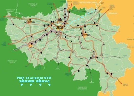 Belgium-Map